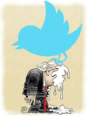 Trump Twitter Poop Poster