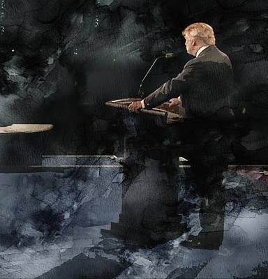 Trump Vs Clinton 4 Poster by Jani Heinonen