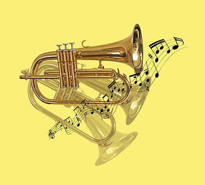 Trumpet Fanfare Poster