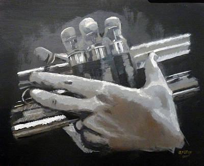 Trumpet Hands Poster