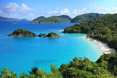 Trunk Bay St. John Poster