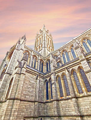 Truro Cathedral Poster by Terri Waters