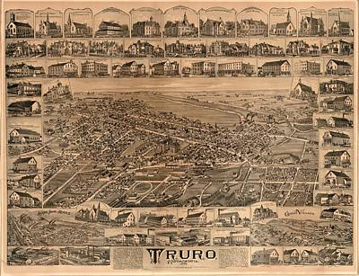 Truro Nova Scotia 1889 Poster by Mountain Dreams