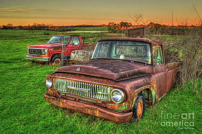 Trusted Old Friend 1965 International Harvester Company Pickup Truck Art  Poster