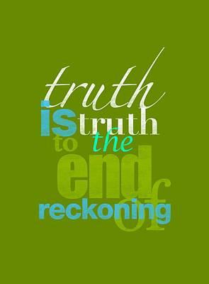 Michael Jackson Truth Is Truth Poster