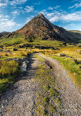 Tryfan Mountain Track  Poster