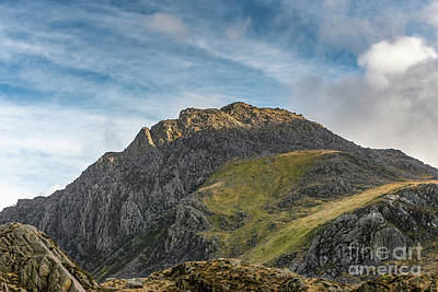 Tryfan Snowdonia Poster by Adrian Evans