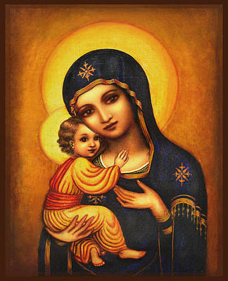 Tryptichon Madonna Poster
