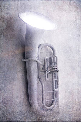 Tuba Light Poster by Garry Gay