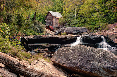 Tucked Away - Historic Old Mill Photography Poster