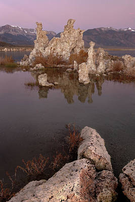 Tufa And Mountains Poster