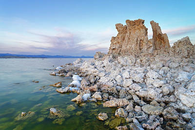 Poster featuring the photograph Mono Lake - Tufa by Francesco Emanuele Carucci