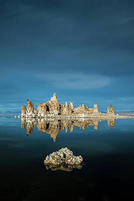Tufa Reflections Poster