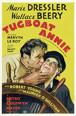 Tugboat Annie 1933 Poster by M G M