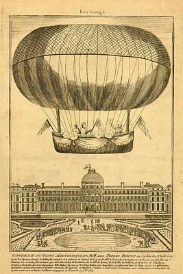 Tuileries Garden, Paris Poster