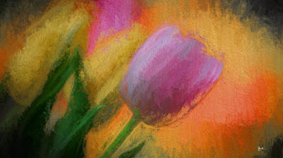 Tulip Abstraction Poster