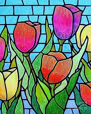 Tulip Garden Poster by Jim Harris
