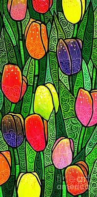 Tulip Glory Poster by Jim Harris