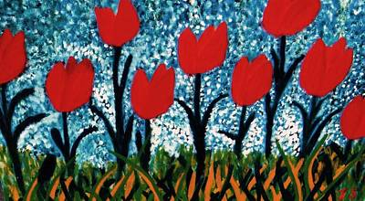 Tulip Time Poster by John Scates