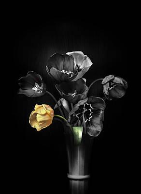 Tulips 2 Poster by Ivan Vukelic