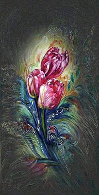 Tulips Fantasy Poster
