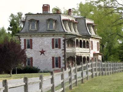 Poster featuring the photograph Tulpehocken Manor Plantation Historic Site  by David Dehner