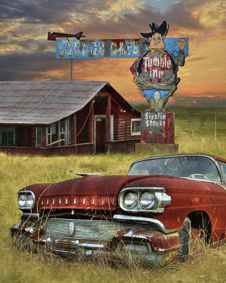 Poster featuring the photograph Tumble Inn by Lori Deiter