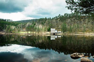 Tungefoss Kraftverk I Bjelland Poster by Mirra Photography