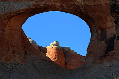 Tunnel Arch In Arches National Park Poster by Pierre Leclerc Photography