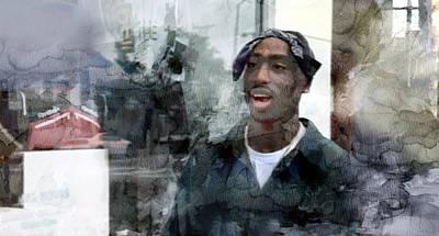 Tupac 3476 Poster by Jani Heinonen