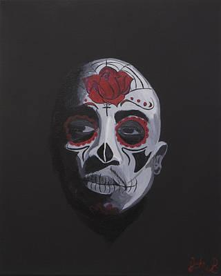 Tupac De Los Muertos  Poster by John Bainter