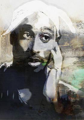 Tupac Graffitti 20 Poster