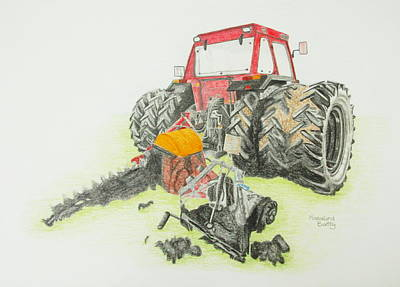 Turf Tractor Poster