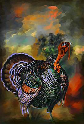 Turkey  Poster by Andrzej Szczerski
