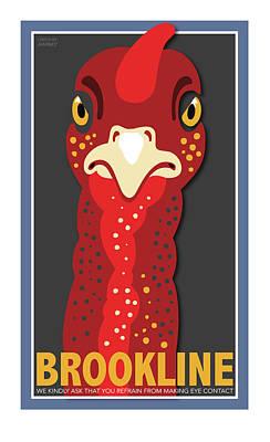Turkey Stare Poster