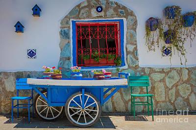 Turkish Cart Poster