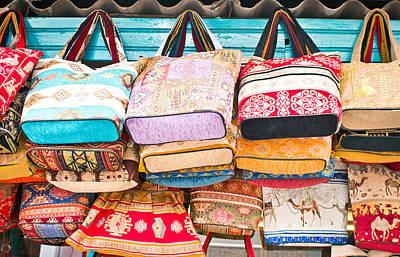Turkish Handbags Poster by Tom Gowanlock