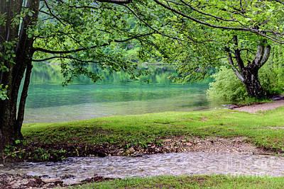 Turquoise Zen - Plitvice Lakes National Park, Croatia Poster
