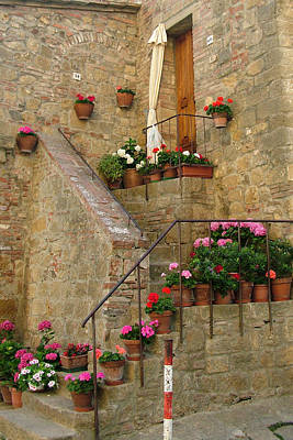Tuscan Cottage Poster