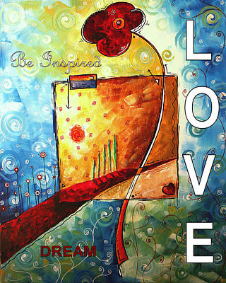 Tuscan Dreams By Madart Poster by Megan Duncanson