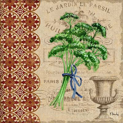Tuscan Herbs IIi Poster by Paul Brent