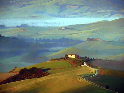 Tuscan Hills Iv Poster