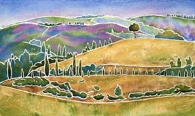 Tuscan Textures Poster