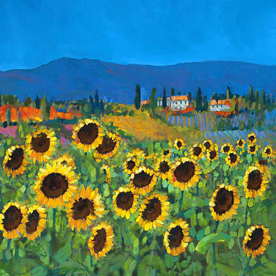 Tuscany Poster by Chris Mc Morrow