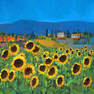 Tuscany Poster by Chris Mc Morrow