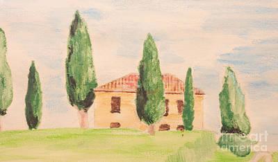 Tuscany House Poster by Andreas Berheide