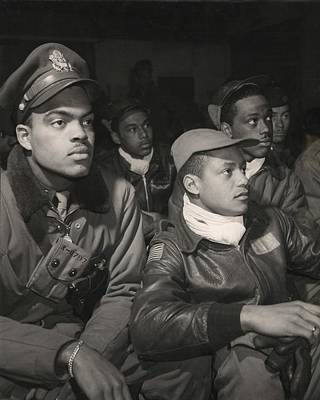 Tuskegee Airmen Of The 332nd Fighter Poster