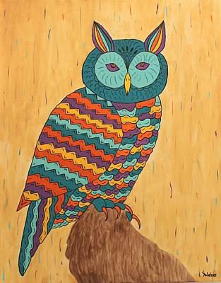 Tutie Fruitie Hootie Owl Poster