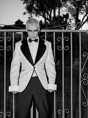 Tuxedo Vampire Poster by William Dey