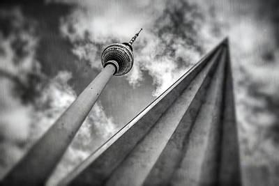Tv Tower Alexanderplatz Berlin  Poster